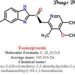 Esomeprazol : Structure and chemical information.