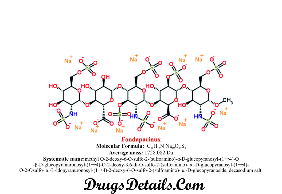 Fondaparinux : Structure and chemical information.