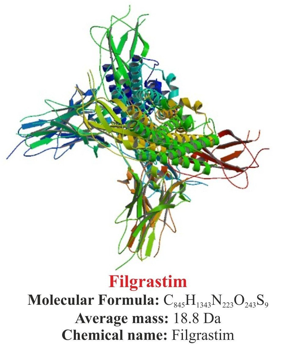 Filgrastim : Structure and chemical information.