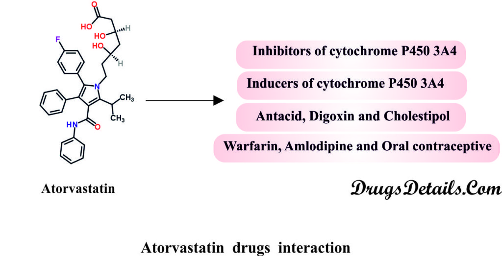 Atorvastatin Drugs Interaction.