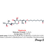 Mupirocin: Structure and chemical information.