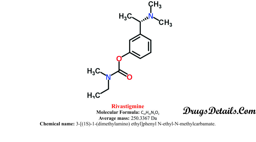 Rivastigmine : Structure and chemical information.