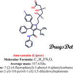 Atorvastatin : Structure and chemical information..