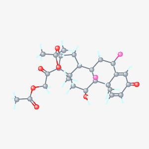 Fluocinonide 3d structure