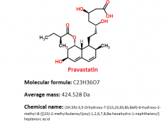 pravastatin structure