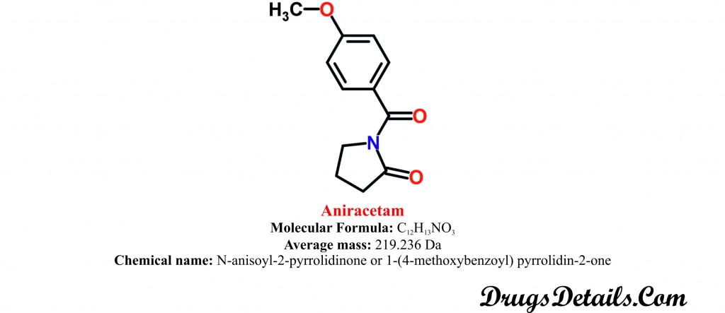 Aniracetam : Structure and chemical information