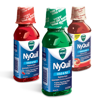 Mucinex and NyQuil