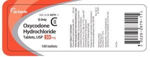 oxycodone-hydrochloride tablets