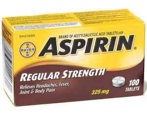 how aspirin reduces fever