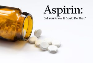what symptoms does aspirin treat