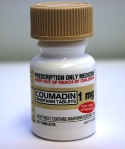 Coumadin blood thinner