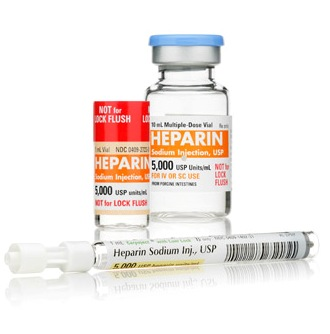 how to give heparin injection