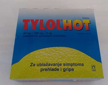 Tylol Hot, Tylenol alternative