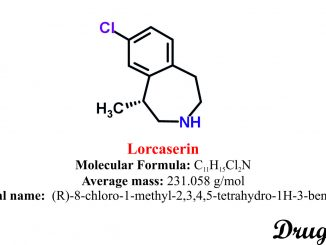 LorcaserinStructure and chemical information.