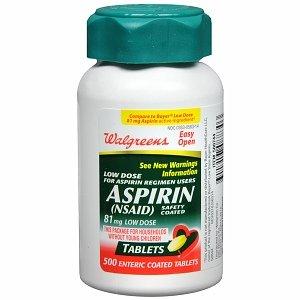 aspirin before niacin