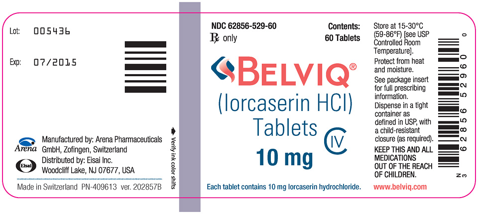 Lorcaserin (belviq-5) tablets