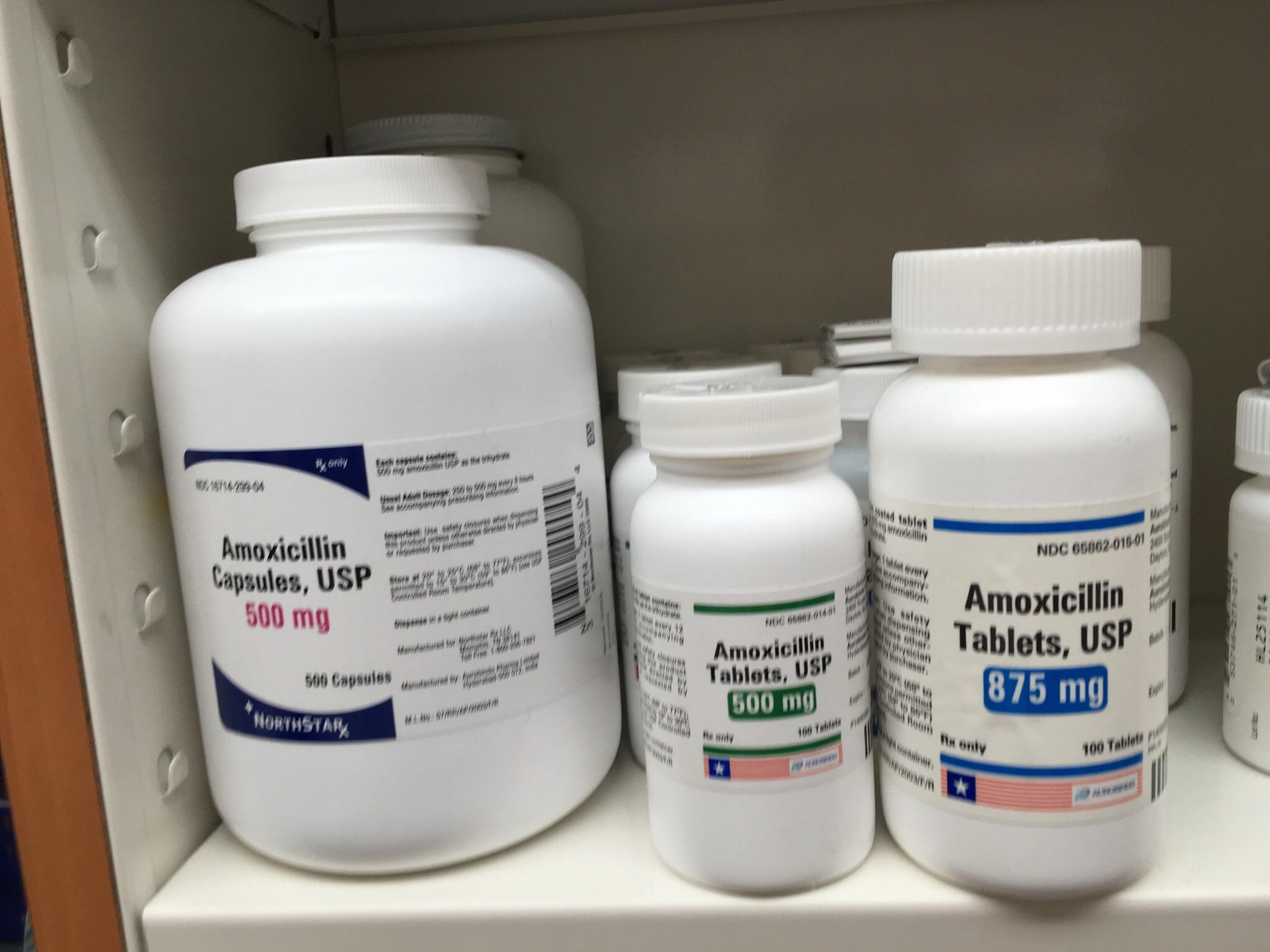 amoxicillin tablets dosage forms