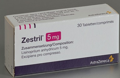 What is zestril used for?