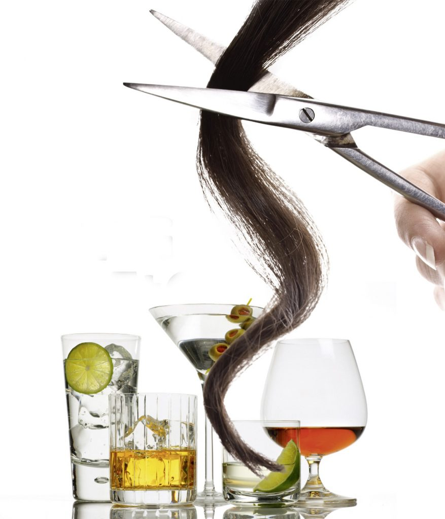 how long does alcohol stay in your hair follicles