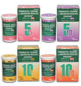 Amlodipine Perindopril tablets (Coveram)