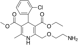 Amlodipine Structure and chemical information