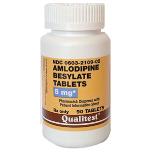 Amlodipine besylate tablets 2.5 mg