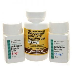 Amlodipine besylate tabs