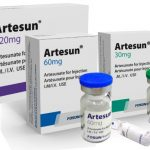Azithromycin combination therapy with artesunate