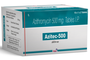 Azithromycin 500 mg tabs