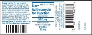 Azithromycin_injection