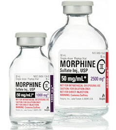 gabapentin and morphine adverse effects