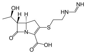 Structure and chemical information of Imipenem