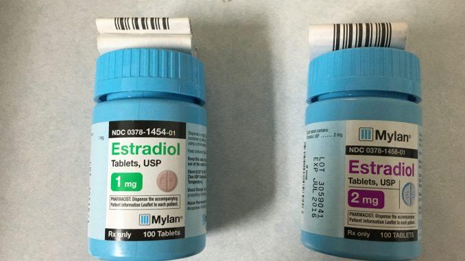 estradiol levothyroxine interaction