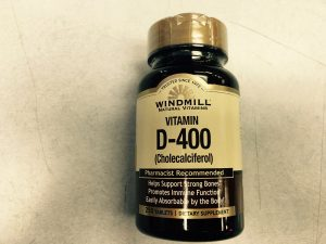 Vitamin D 400IU tablets