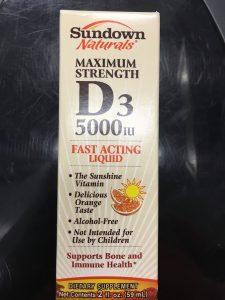 Witamin D3 5000 IU liquid