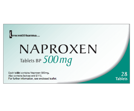 naproxen 500mg (Aleve) and ibuprofen (Motrin)