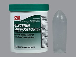 glycerin rectal suppository infant