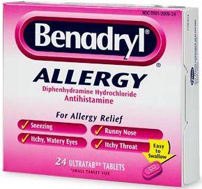 Can I take expired Benadryl