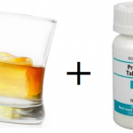 interaction between prednisone and alcohol