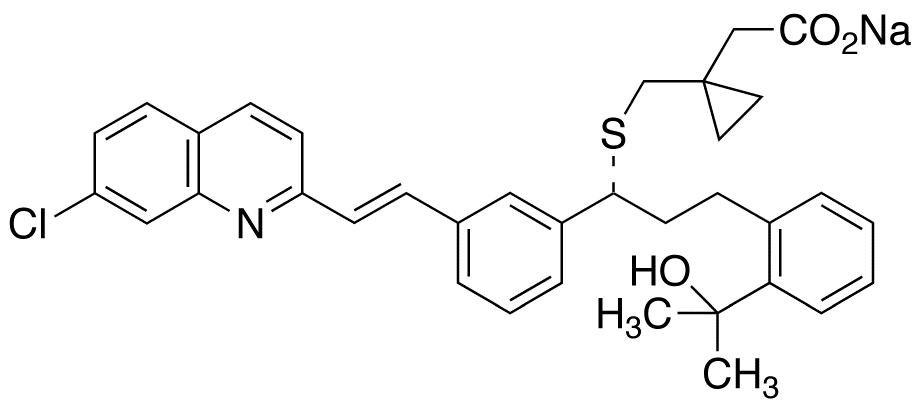 montelukast sodium structure, montelukast vs montelukast sodium