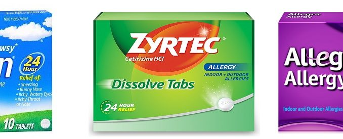difference between claritin d allegra d and zyrtec d