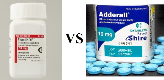 focalin vs adderall for studying