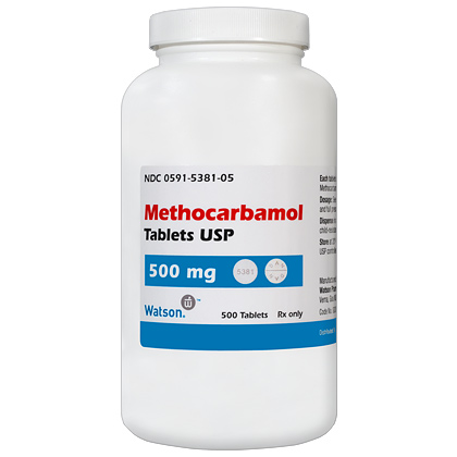 methocarbamol 500 mg tablets for dogs