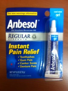 Anbesol gel regular strength