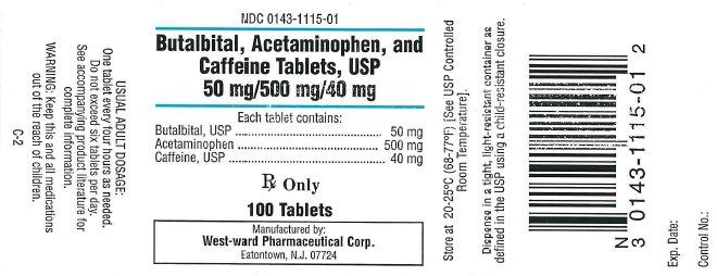 Butalbital , Acetaminophen and caffeine