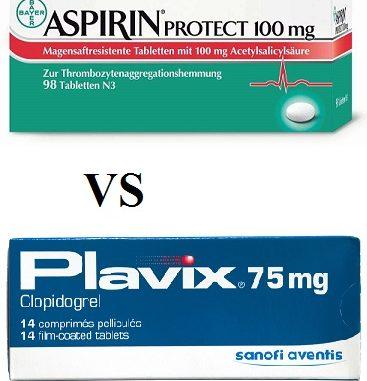 Compare Plavix vs Aspirin