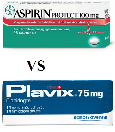 aspirin vs clopidogrel after stroke , bleeding risk, combination brand, for secondary stroke prevention, for stent