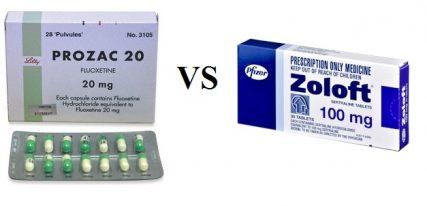 Prozac vs Zoloft - Difference and Comparison