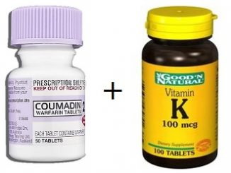 does vitamin k counteract warfarin