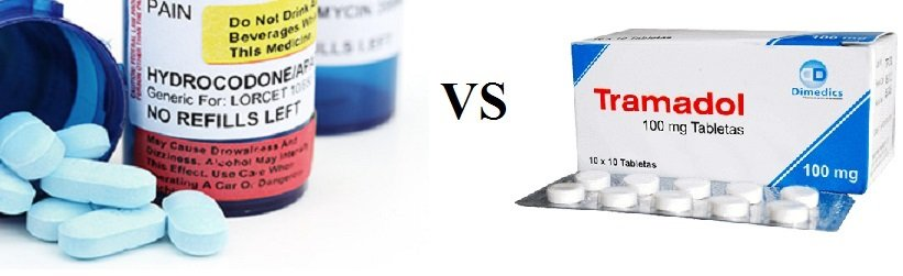 tramadol compared to hydrocodone